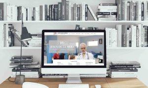 Página web del cardiólogo Jesús de la hera