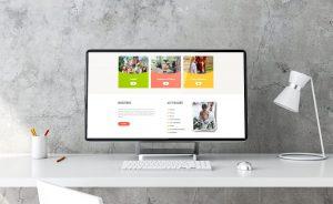 Página web de la Granja Escuela Ria del EO