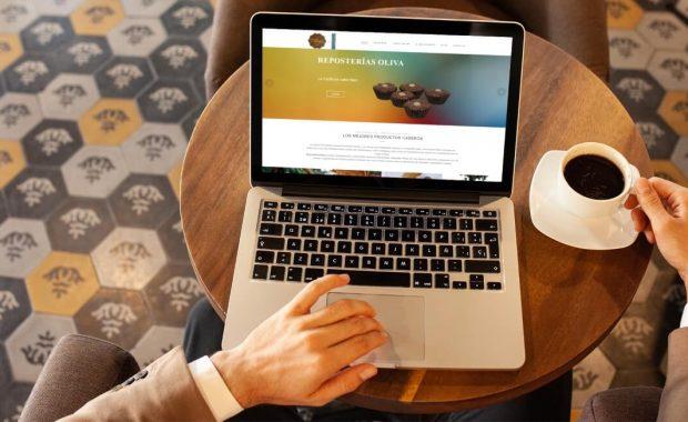 proyecto web - reposterias oliva