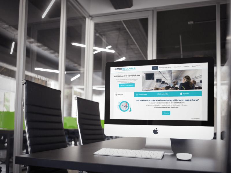 proyecto web aeroreclama