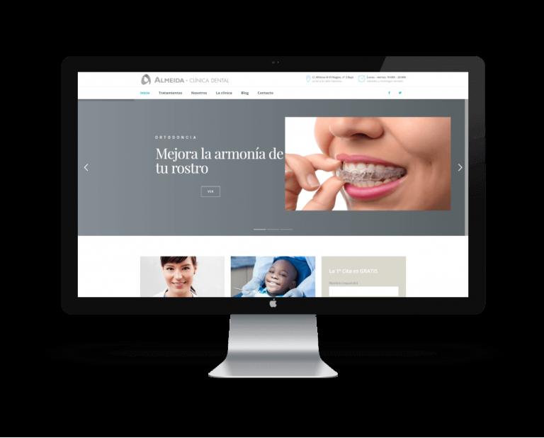 ejemplo de desarrollo web en Avilés