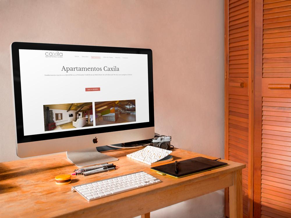 Web de apartamentos rurales