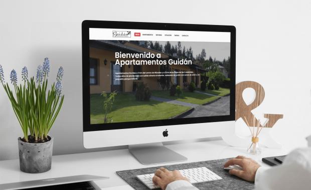web corporativa alojamientos turisticos