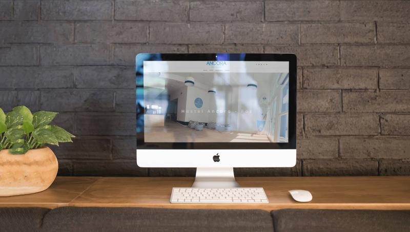 Ejemplo 1 de diseño web en Barcelona