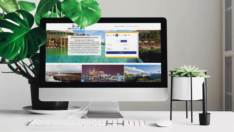 Ejemplo 2 de diseño web en Barcelona