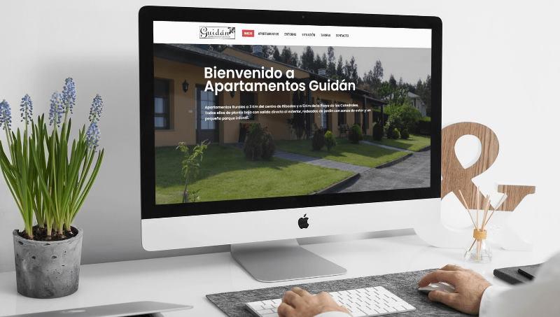 Ejemplo 4 de diseño web en Barcelona