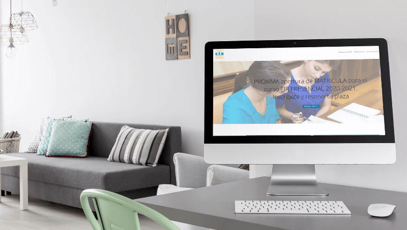 Ejemplo 6 de diseño web en Barcelona